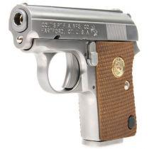 Pistolet Colt 25 junior GBB full métal Silver