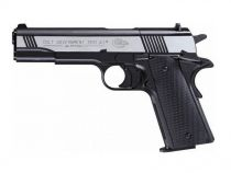PISTOLET COLT GOVERNMENT 1911 FULL METAL BICOLORE PLOMB 4,5