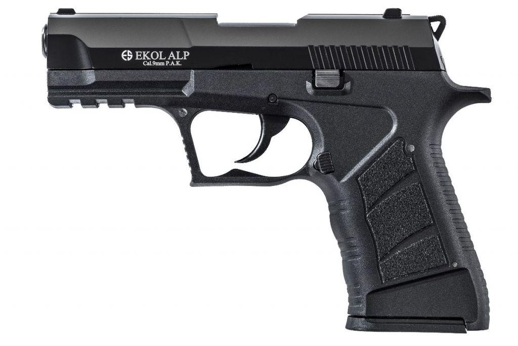 Pistolet d\'Alarme EKOL ALP 9mm PAK Noir Mat