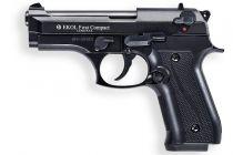 Pistolet d\'Alarme EKOL Firat Compact 9mm PAK Noir Brillant