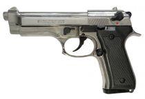 Pistolet d\'alarme Kimar 92 auto 9mm PAK Chromé