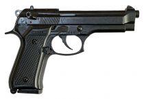 Pistolet d\'alarme Kimar 92 auto 9mm PAK version 2020 Noir