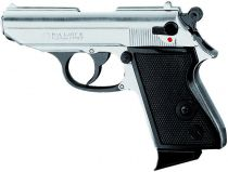 PISTOLET D\'ALARME KIMAR LADY K 9 MM PAK CHROME