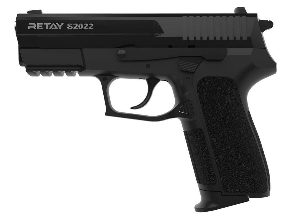 Pistolet d\'Alarme Retay 2022 9mm PAK noir + Mallette