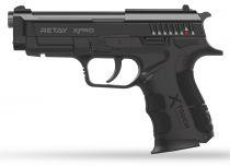 Pistolet d\'Alarme Retay XPRO 9mm PAK noir + Mallette