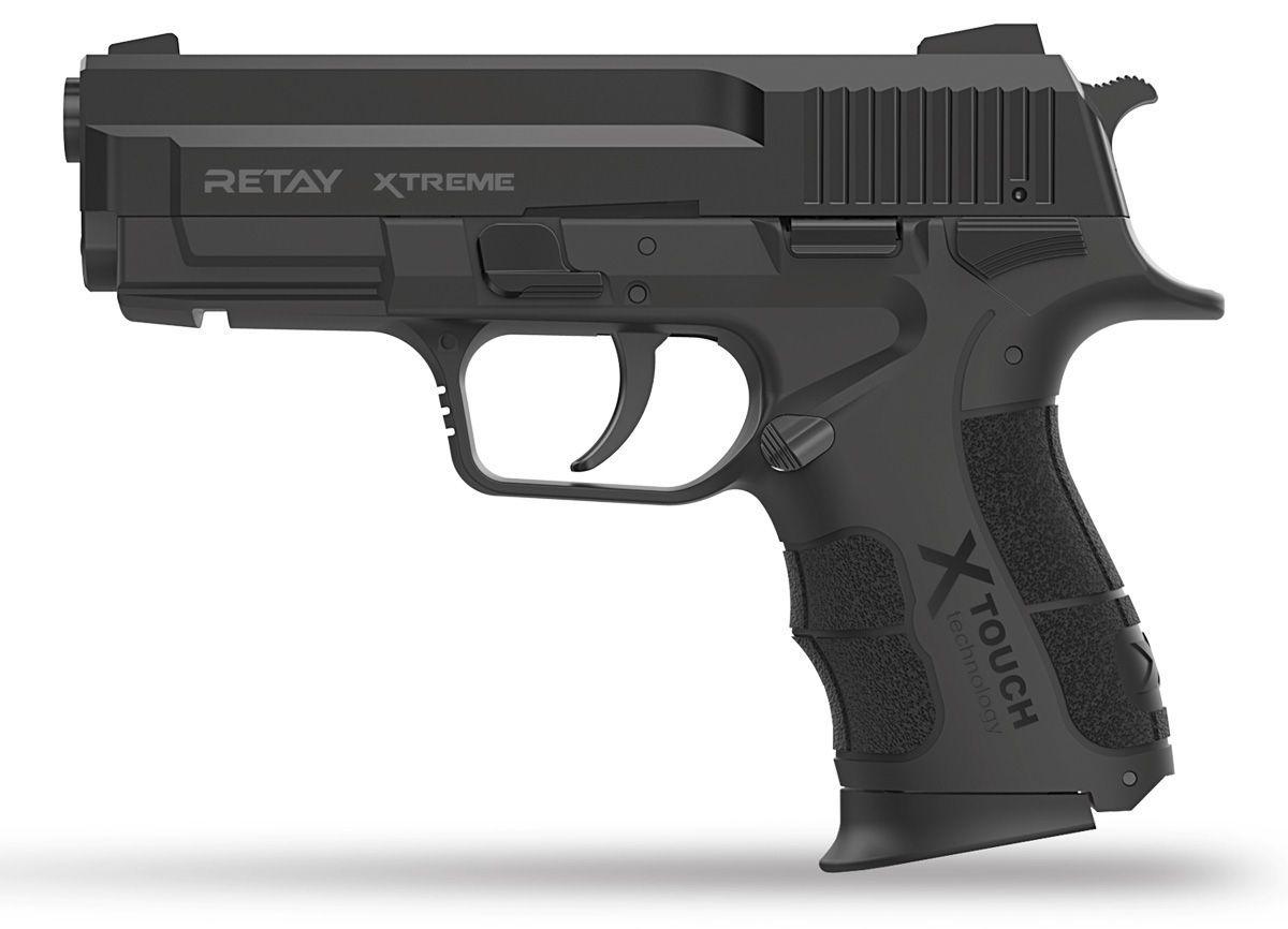 Pistolet d\'Alarme Retay XTREME 9mm PAK noir + Mallette