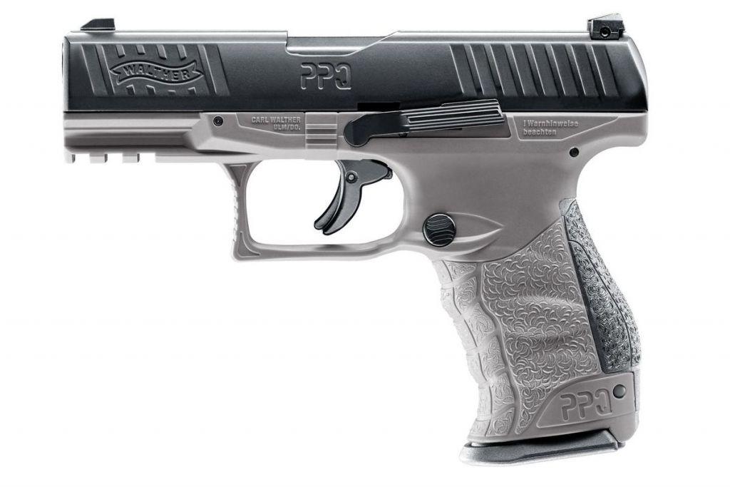 Pistolet de défense Walther PPQ M2 T4E Cal.43 Tungsten Gray