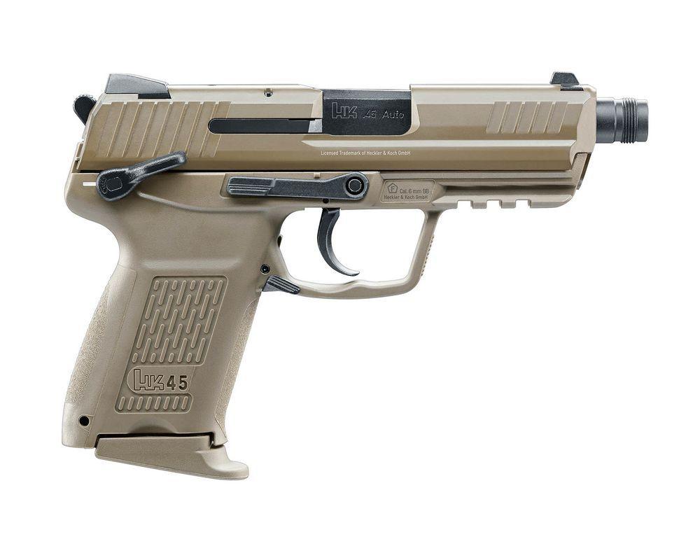 PISTOLET H&K HK45CT FDE BLOWBACK GAZ