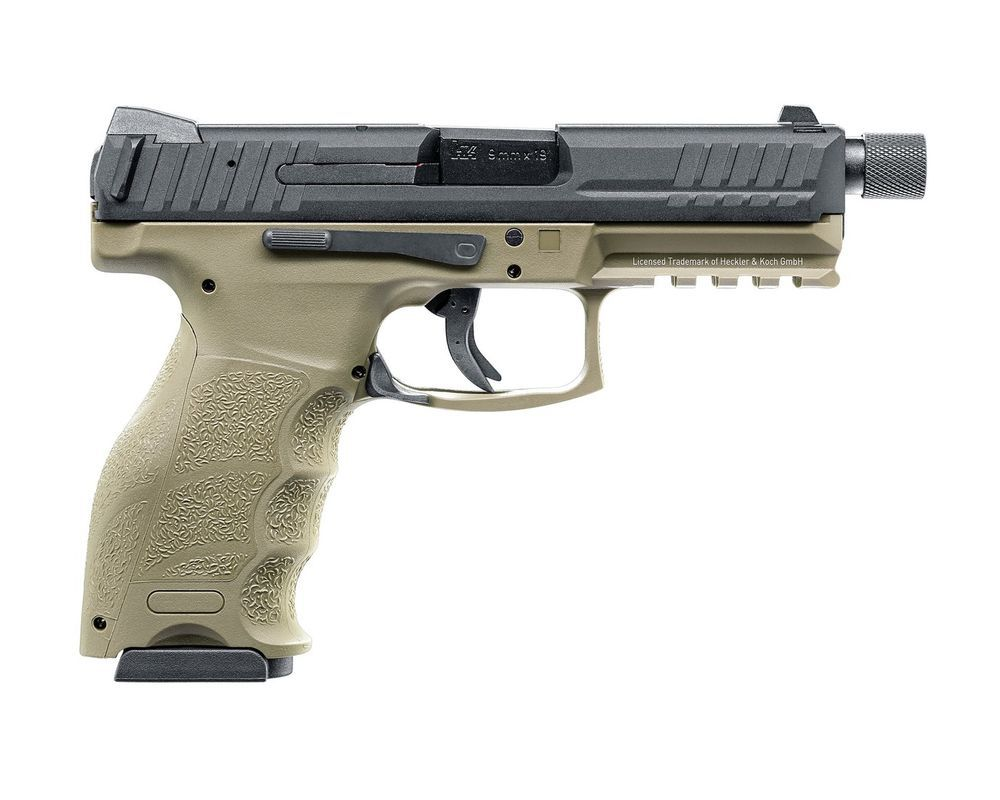 PISTOLET HK VP9 TACTICAL BLOWBACK GAZ