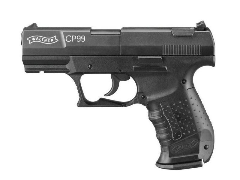 PISTOLET WALTHER CP99 FULL METAL PLOMB 4,5