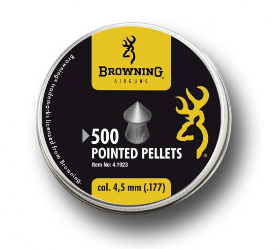 PLOMBS POINTUS BROWNING 4.5 BOITE DE 500 - 0.56G STRIES