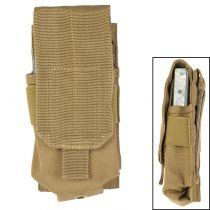PORTE CHARGEUR POUR M4 / M16 TYPE MOLLE COYOTE