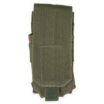 PORTE CHARGEUR POUR M4 / M16 TYPE MOLLE OLIVE