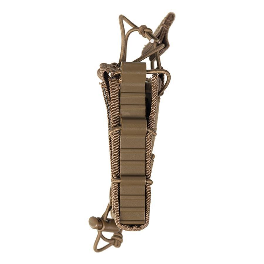 Porte chargeur simple Open Top Flex type MOLLE coyote-tan