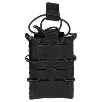 Porte chargeur simple Open Top Flex type MOLLE noir