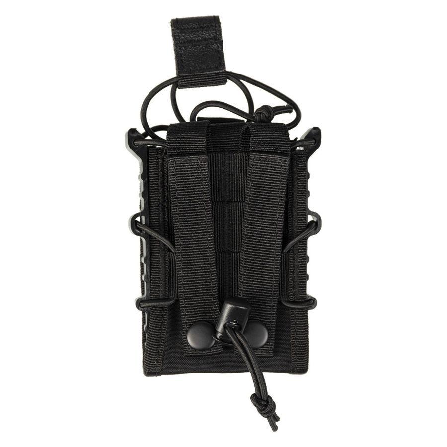 Porte chargeur simple Open Top Flex type MOLLE noir