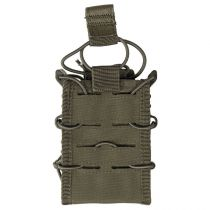 Porte chargeur simple Open Top Flex type MOLLE vert olive