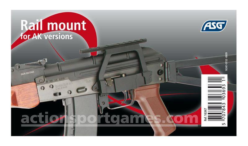 RAIL DE MONTAGE AK 74