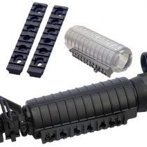 RAILS RIS 21 MM POUR GARDE-MAIN M4/M733/M15/M16 (LA PAIRE)