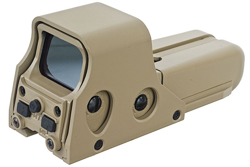 RED DOT TACTICAL 552 OPEN TAN POINT ROUGE ET VERT