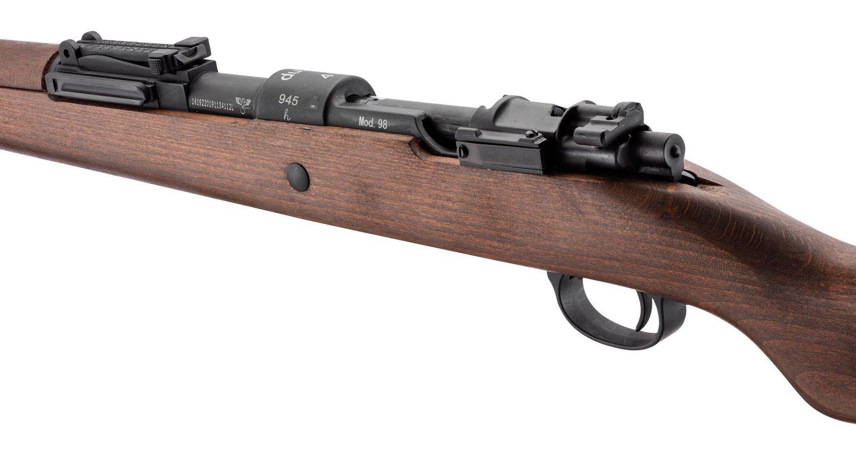 Réplique à gaz DUV KAR98K métal et bois WWII Series 1,7J