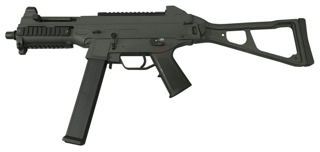 Réplique AEG UMP45 Double Eagle Noir pack complet Airsoft