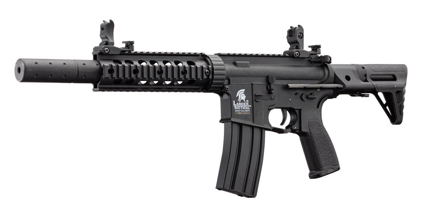 Réplique airsoft AEG LT-15 GEN2 PDW Noir pack complet