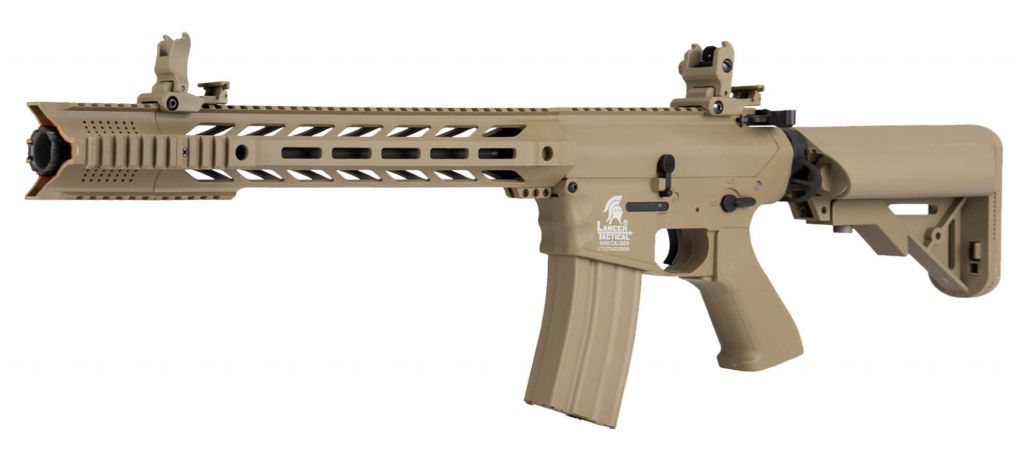 Réplique airsoft AEG LT-25 G2 M4 SPR Interceptor Tan pack complet