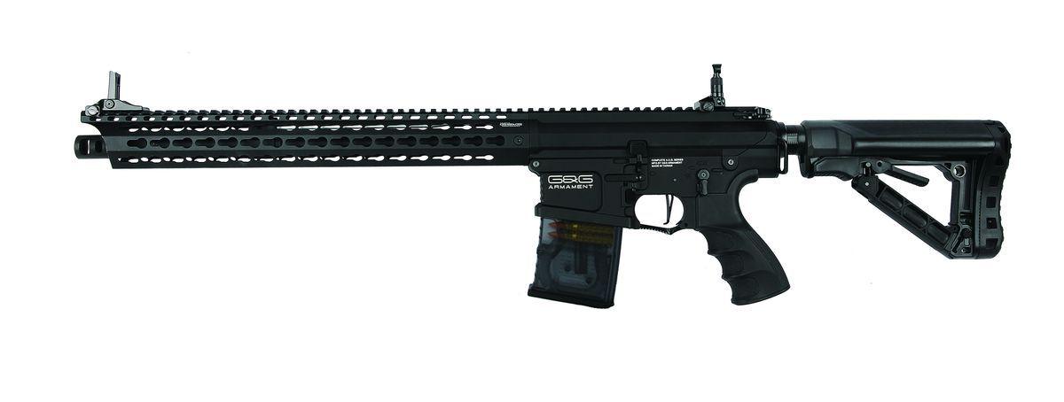 Réplique Airsoft G&G TR16 MBR 308SR noir AEG