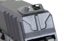 Réplique de poing G&G GTP9 Black/Grey Full Métal Gaz Blowback + Mallette