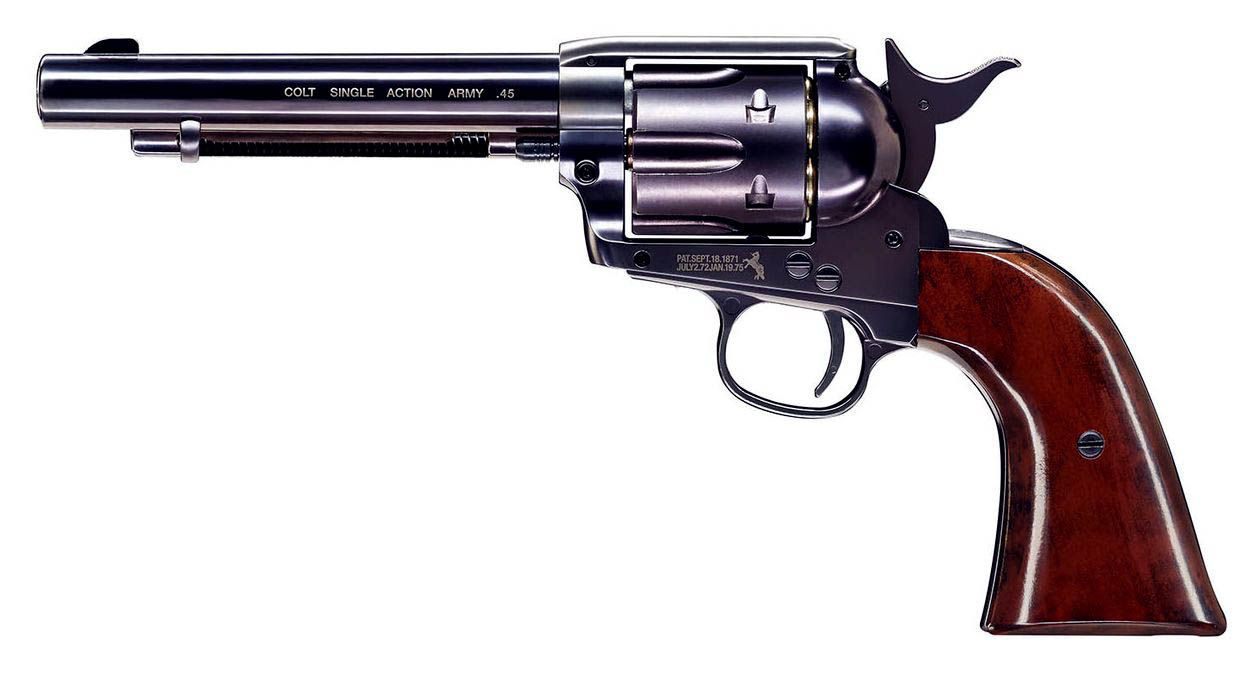 REVOLVER  À PLOMB COLT SAA 45 FINITION BLEUI CO2