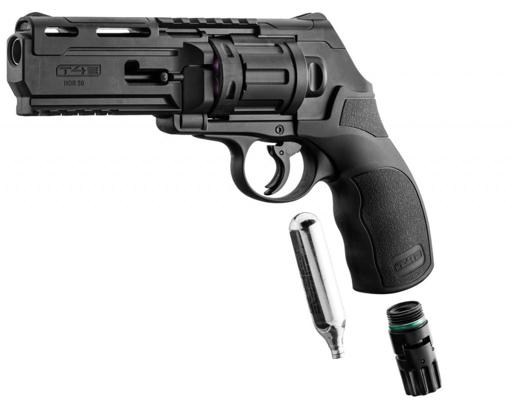 Revolver CO2 Walther T4E HDR Cal.50 home defense