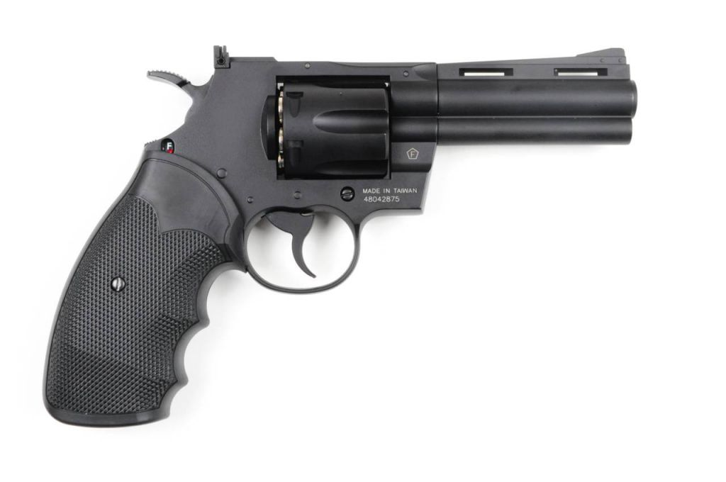 REVOLVER COLT PYTHON 4\'\' CO2 FULL METAL + DOUILLES METAL