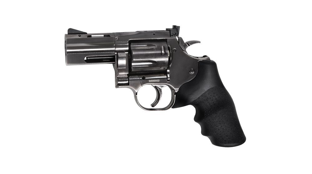 REVOLVER DAN WESSON 715 CO2 2.5\'\' STEEL GREY