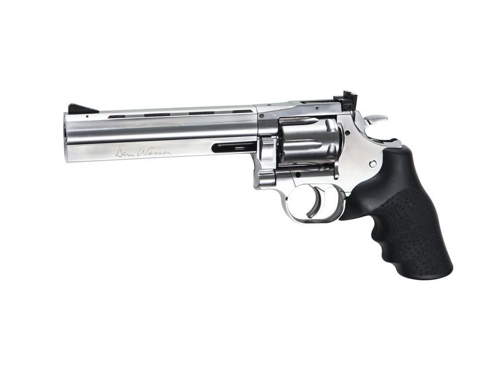 REVOLVER DAN WESSON 715 CO2 6\'\' CHROMÉ