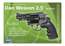 REVOLVER DAN WESSON CO2 2,5\'\' NOIR FULL METAL HI-POWER 1,4J