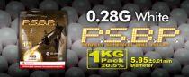 SACHET DE 1 KG 3500 BILLES G&G 0.28 G