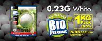 SACHET DE 1 KG 4300 BILLES BIO G&G 0.23 G