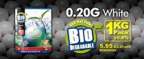 SACHET DE 1 KG 5000 BILLES BIO G&G 0.20 G