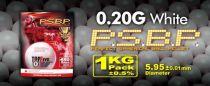 SACHET DE 1 KG 5000 BILLES G&G 0.20 G