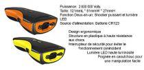 Shocker électrique Joggeur 2800000 Volts avec Alarme 90db