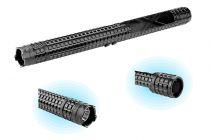 Shocker électrique Matraque Lampe Métal X8 10000000 Volts Noir