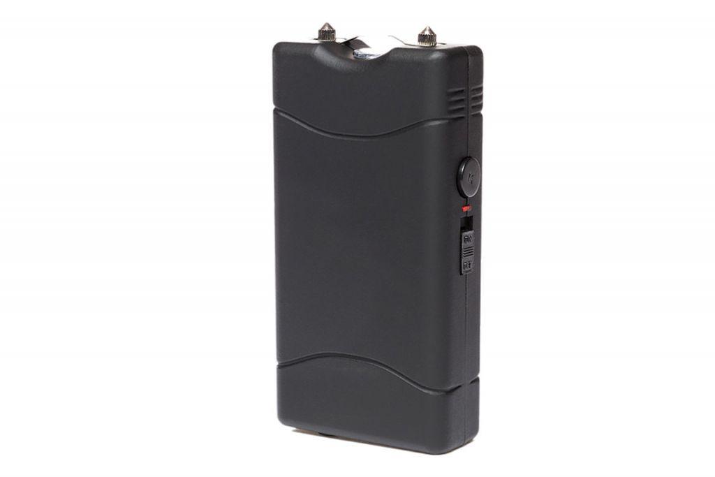 Shocker électrique type mini 800 avec lampe LED 5000000 volts noir