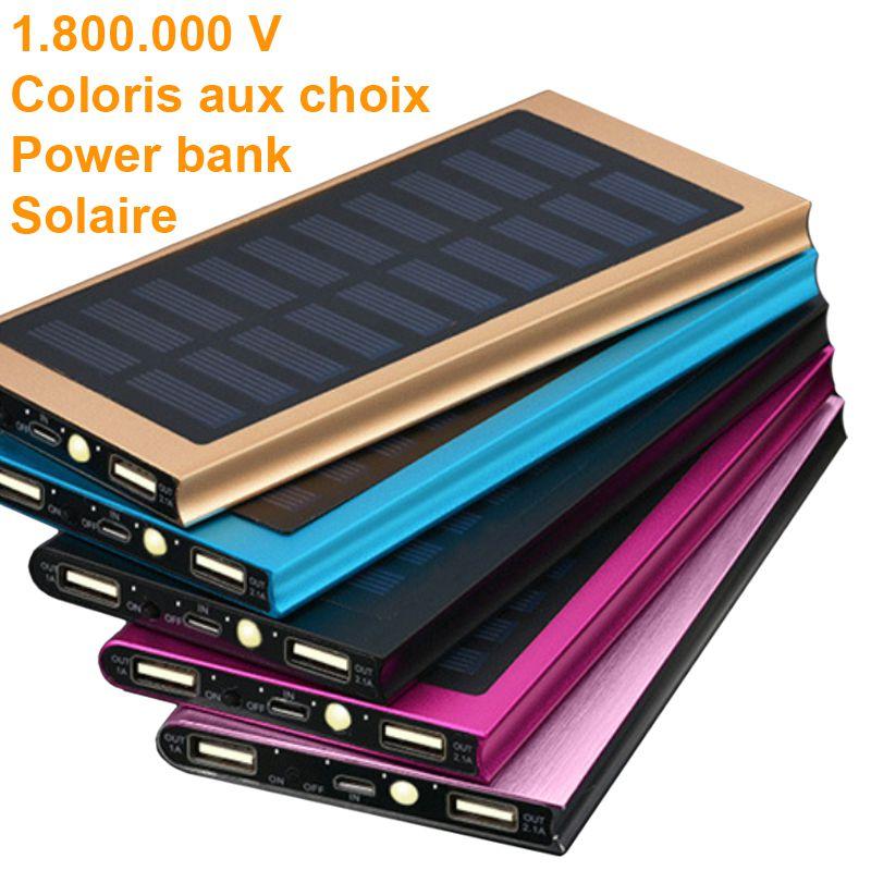 Shocker Solaire Power Bank 1.800.000 V coloris au choix