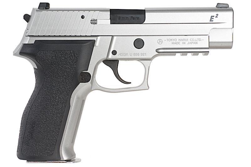 SIG P226 E2 MARUI STAINLESS AVEC RAIL