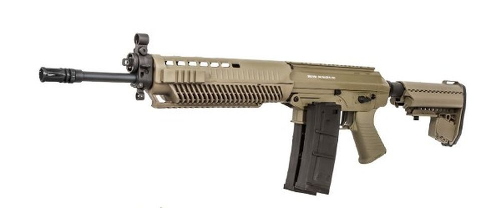 SIG SAUER 556 TAN AEG CORPS METAL PACK COMPLET + 2 CHARGEURS