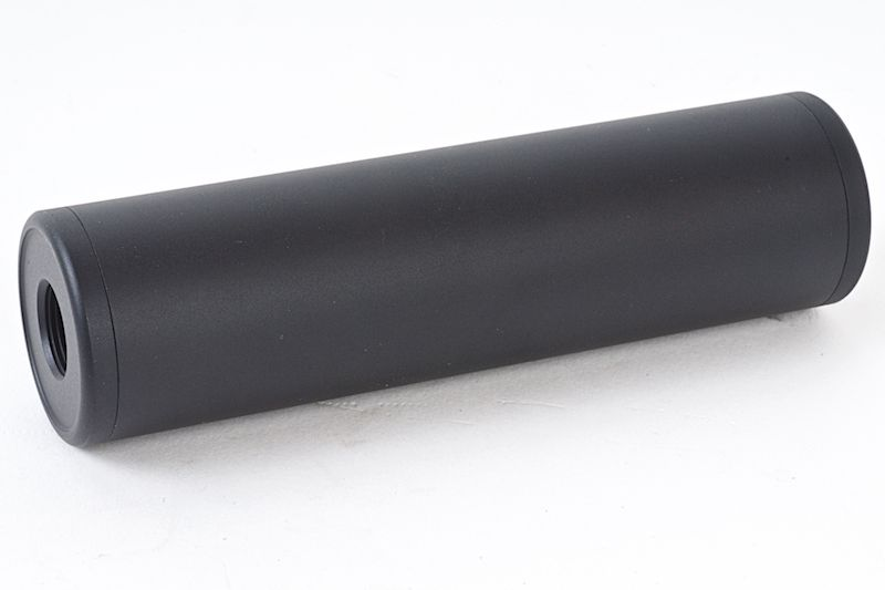 SILENCIEUX FULL METAL 130 X 35 MM FILETAGE 14 MM + ET -