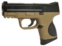 SMITH&WESSON M&P 9C SPRING NOIR ET TAN