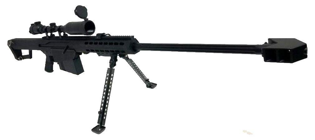 Sniper Airsoft AEG SW99-02 Barrett M82A1 avec bipied et lunette