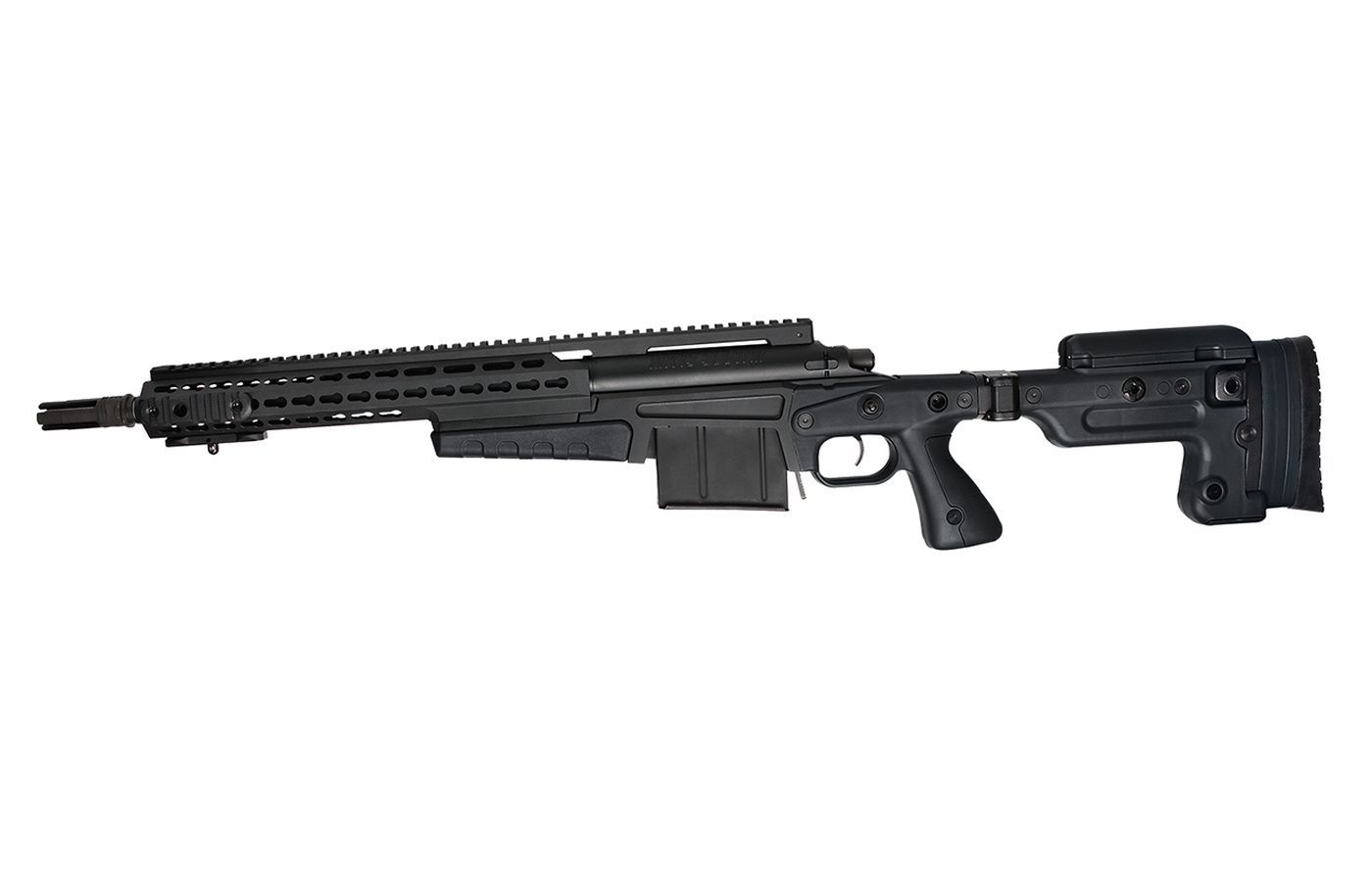 Sniper Airsoft Spring Accuracy International MK13 Compact Black